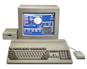 Ny nostalgisk bok om 90-talsdatorn Amiga 500