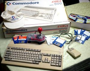 Amiga 500 i Värmlands Folkblad