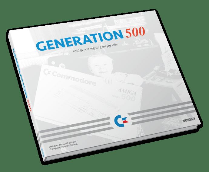 GENERATION 500, omslag